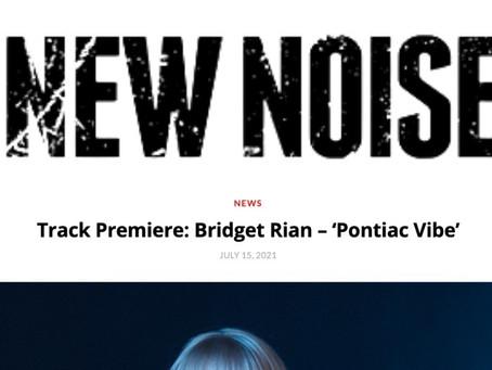 New Noise Magazine | Track Premiere: Bridget Rian - 'Pontiac Vibe'