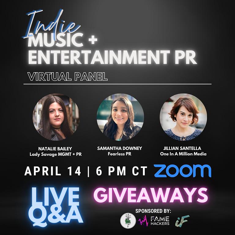 Indie Music & Entertainment PR