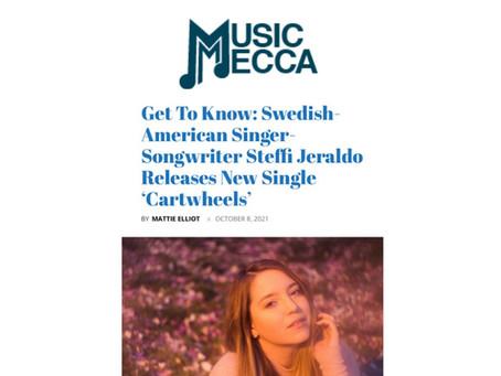 Get To Know: Swedish-American Singer-Songwriter Steffi Jeraldo Releases New Single 'Cartwheels'