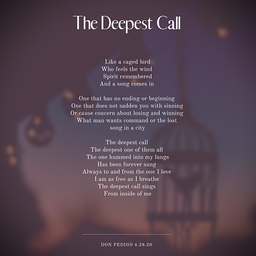 """The Deepest Call"" - Print*"