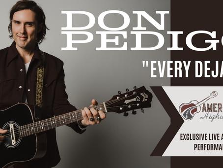 "Americana Highways Video Premiere: Don Pedigo ""Every Deja Vu"""