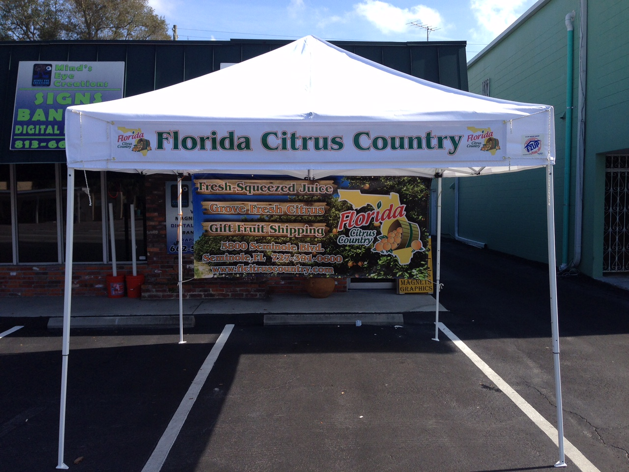 Citrus Country Tent