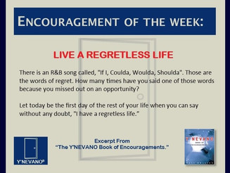 LIVE A REGRETLESS LIFE