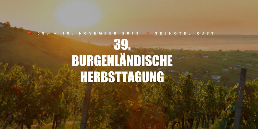 39. Burgenländische Herbsttagung (1)