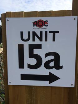 AOC Sign