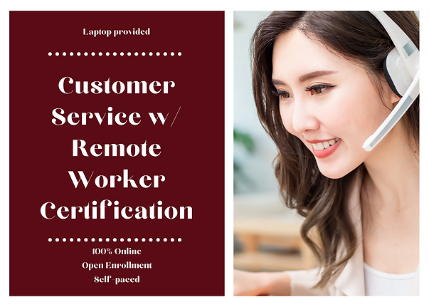 Customer Service w_ Remote Worker Certif