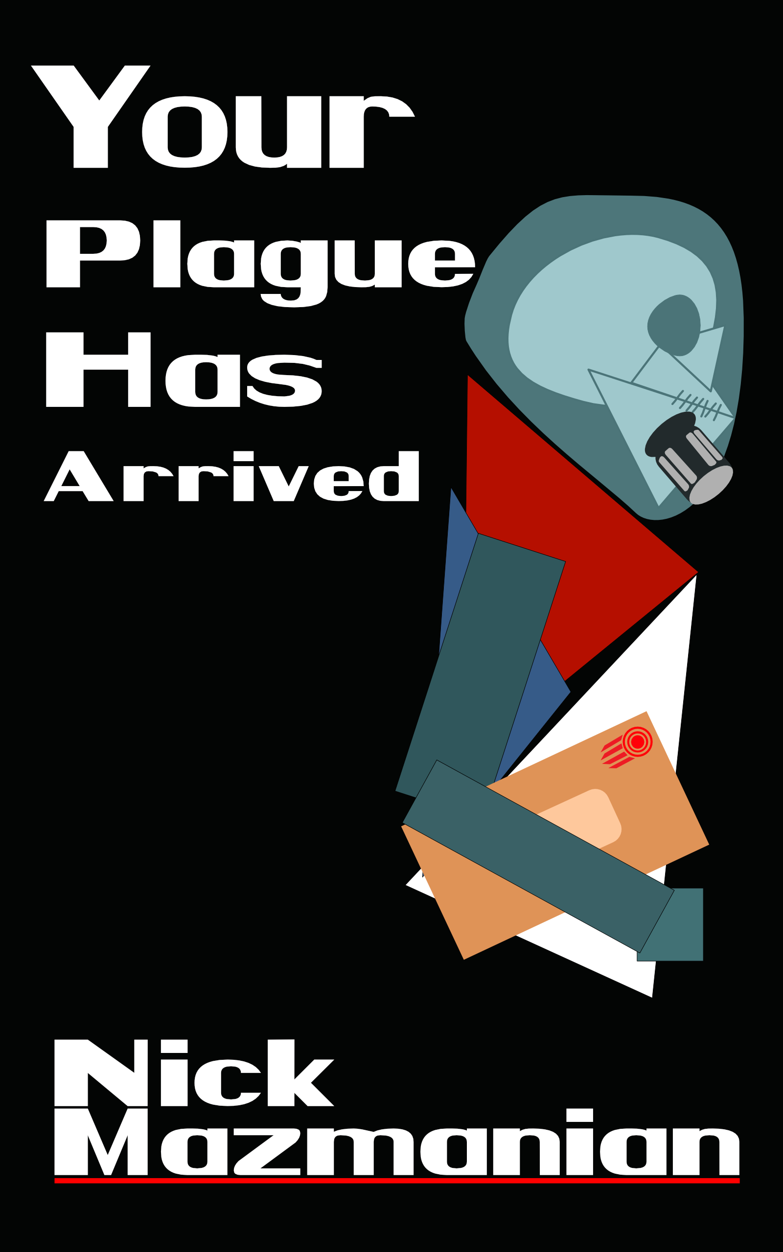 Your Pandemic Has Arrived- Book Cover