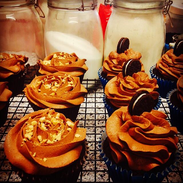 Ferrero Rocher & Oreo Cupcakes