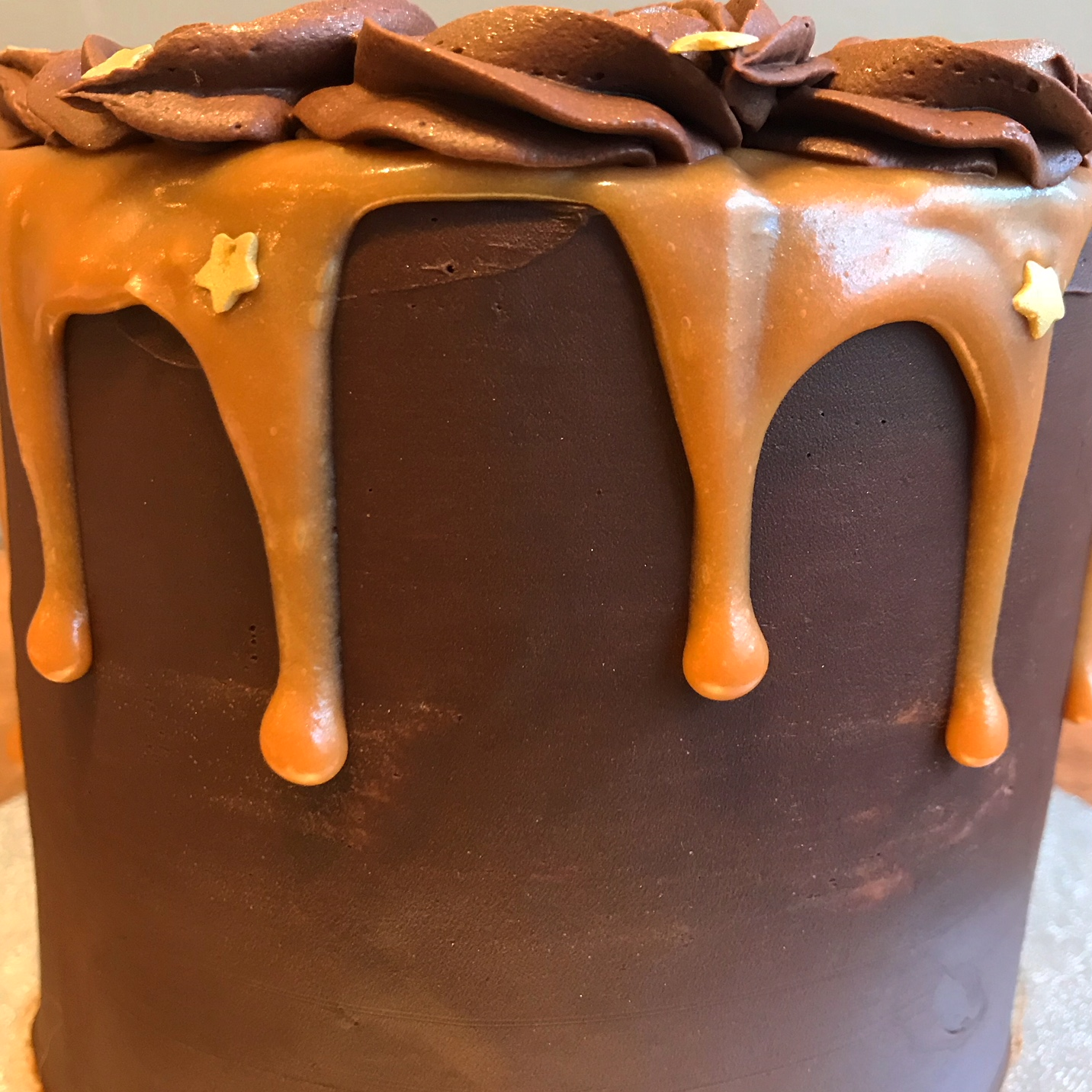 Salted Caramel Chocolate Drip
