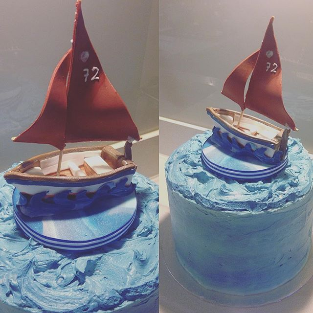 Special Order Sailing Boat Cake