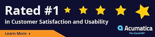 Acumatica Customer Satisfacion and Usability Rating