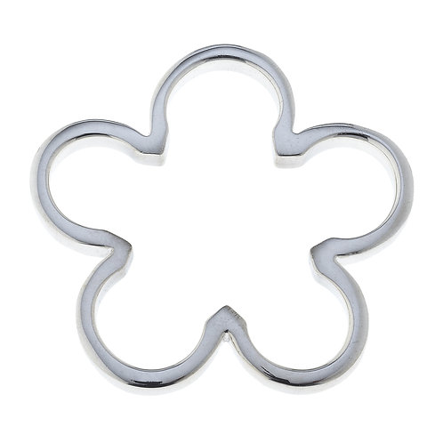 Flower Pendant in .925 Sterling Silver Noah 35p
