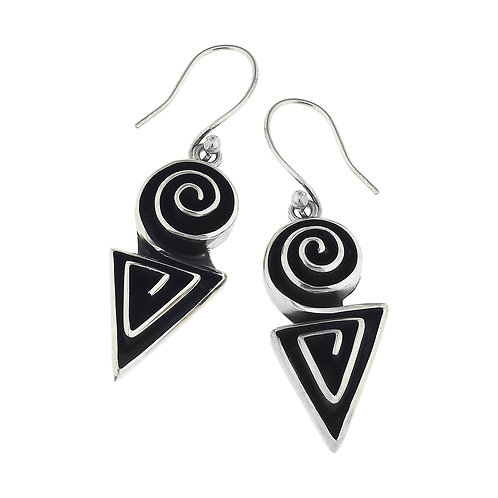 sol91166e  Geometric Earrings