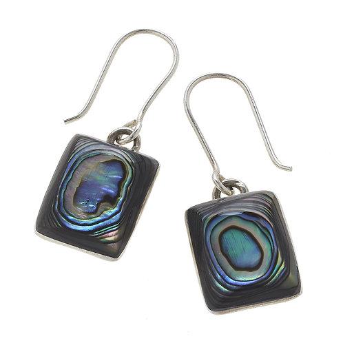Abalone earrings Noah 30