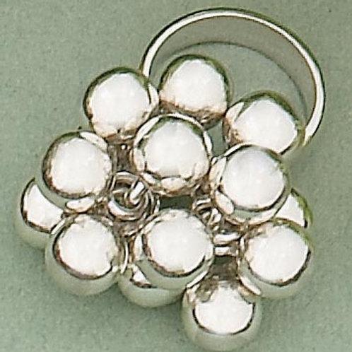 CR04 Multi- ball ring in .925