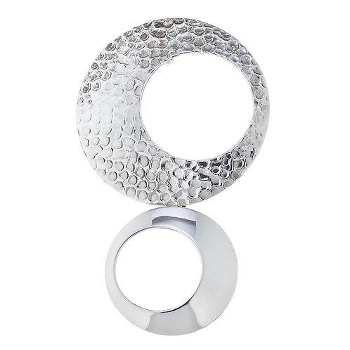 Hammered .925 Sterling Silver Pendant