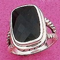 JAMR15 Black Onyx and .925 Sterling SIlver