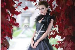 "Kryzalidea couture. Robe ""chardon"""