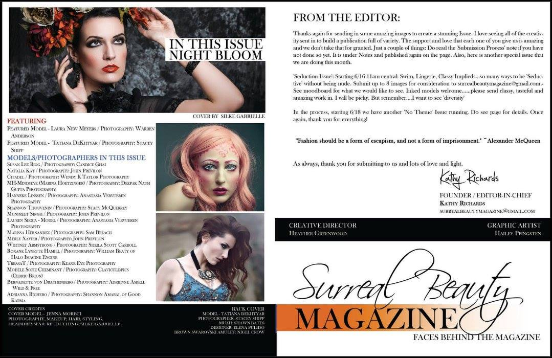 Surreal Beauty magazine 2016