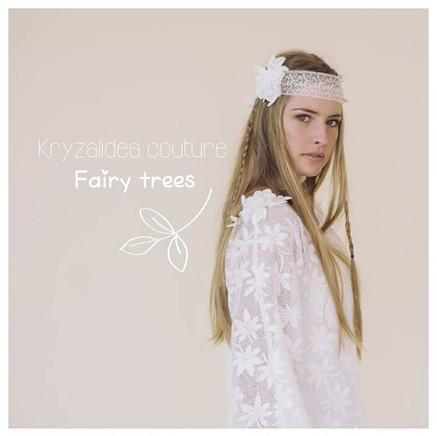 Pull chataigne et headband Mélusine- Fairy trees- Kryzalidea couture