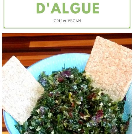 Recette du jour: Tartare d'algues