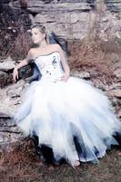 """Kryzalidea couture. Robe corsetée """"musique"""""""