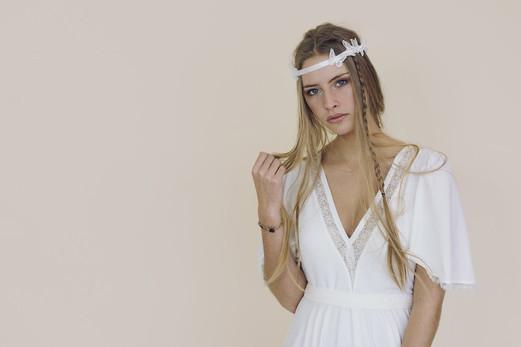 Robe Sylphe-Fairy trees-Kryzalidea couture