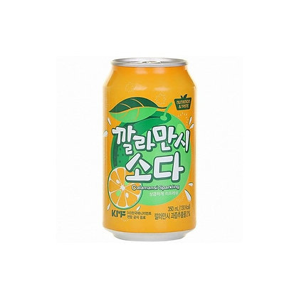 Calamansi Flavour Sparkling Soda 350ml
