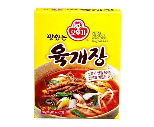 Ottogi Yukgaejang Spicy Beef Soup 38g