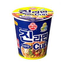Jin Ramen Mild Flavor Cup 65g
