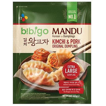 Bibigo Kimchi & Pork Original Dumpling 525g