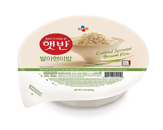 CJ Hetbahn Cooked Sprouted Brown Rice 210g