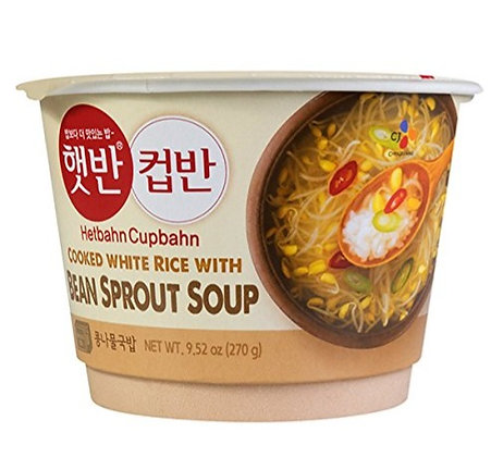 CJ Bean Sprout Soup HetBahn Cup 270g