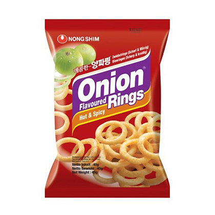 Nongshim Onion Rings Hot & Spicy 40g