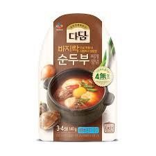 CJ Dadam Spicy Soft Tofu Stew Paste 140g