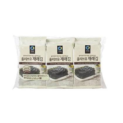 Chungjungone Seasoned Laver olive oil 15g