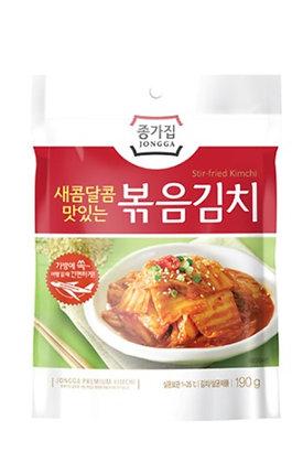 Jongga Stir Fried Kimchi 190g