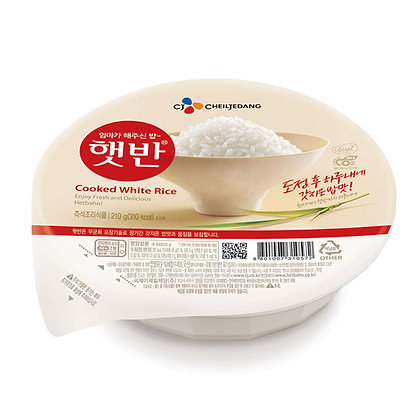 CJ Hetbahn White Rice 210 g