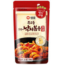 Sempio Mugyo Fried Squid Octopus with Spicy Sauce 130g