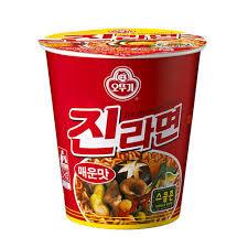 Jin Ramen Hot Flavor Cup 65g