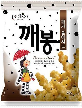 Paldo Sesame Cracker Sticks 75g