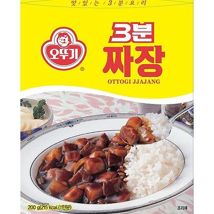Ottogi 3 Minute Jjajang Black Bean Sauce 200g