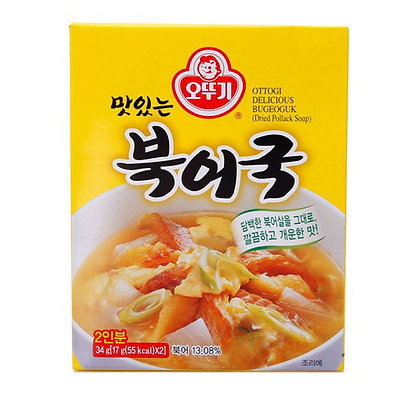 Ottogi Bugeoguk Dried Pollack Soup 34g