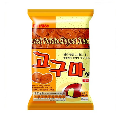 Cosmos Sweet Potato Shaped Snack 60g