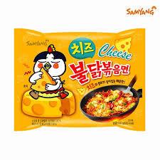 Cheese Spicy Chicken Flavor Ramyun 140g