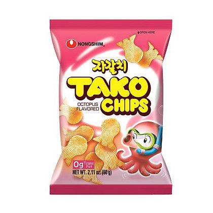 Nongshim Tako Chips Octopus Flavor 60g