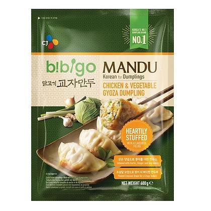 Bibigo Chicken & Vegetable Gyoza Dumpling 600g