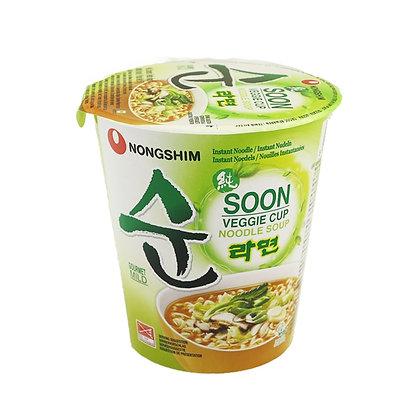 Soon Ramen Flavor Veggie Cup 62g