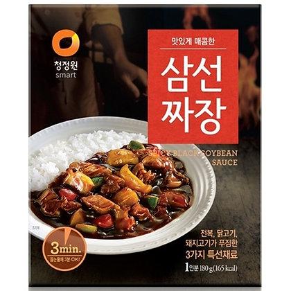 Chungjungone Jjajang Spicy Black Soybean Sauce 180g