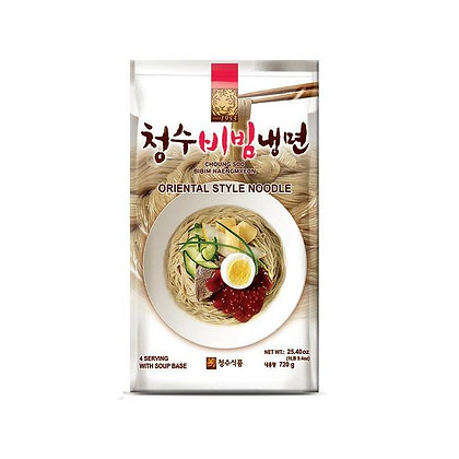 Chungsoo Cold Noodle with spicy sauce 720g